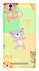 WOW Printed Designer Mobile Case Back Cover For Xiaomi Redmi 3A /Redmi 3A