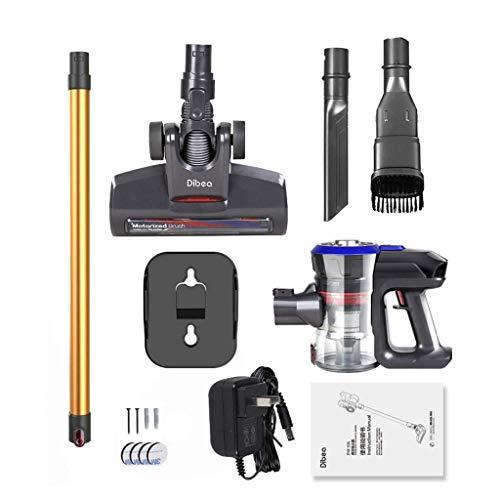 Licy Staubsauger Wireless-Ladegerät für Zuhause Kleine Handheld-Mute Hochleistungs-Milbenböden, Teppiche und andere Bodenreinigung