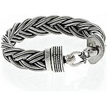 Colimaçon Bijouterie Bracelet Snake Le Passe-Velours en Argent 925/1000 - Bracelet tressé - Femme
