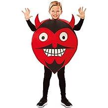 Disfraz de Emoticono Diablo para niños