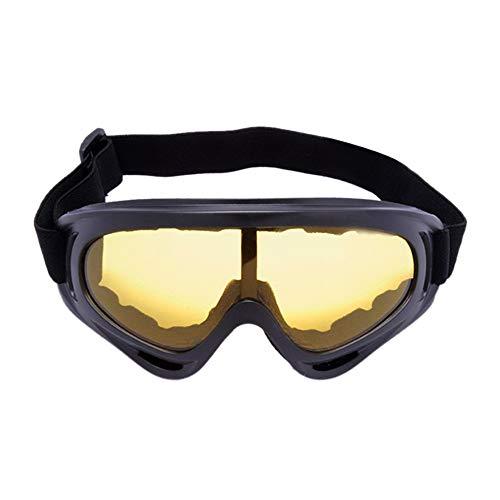 Alte Green Fahrrad Gläser CS Brille Motorrad-Windschutzscheibe Ski-Brille,B