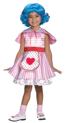 Lalaloopsi Rosy Bumps n' Bruises Puppe Girl Mädchen Kinder Fasching Karneval Kostüm Costume 122-128