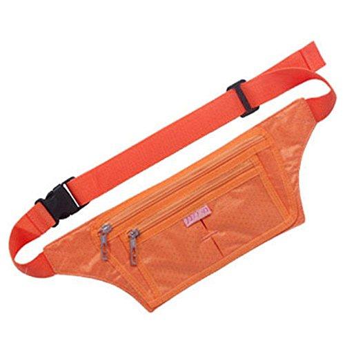 BUSL Wandern Hüfttaschen Telefon im Freien Sporttasche Mann Frau dünne Dokumente gespeichert persönliche Reise unsichtbare Sicherheitstaschen läuft Fitness e