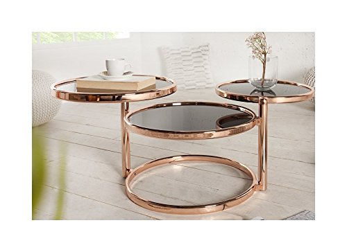 Lnxp REPRO Art Table Basse Ronde...