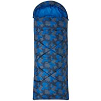Mountain Warehouse Saco de Dormir Estampado Apex Mini- Saco de Dormir Tipo Momia, Ligero