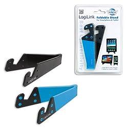 Logilink Aa0039b Smartphone-tablet-pc-halterungs-set, Schwarzblau