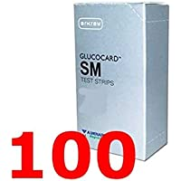 Preisvergleich für glucocard SM - 100 Streifen reagenz für die test der Blutzucker - MENARINI