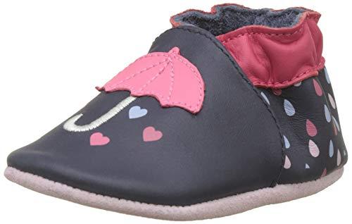 Robeez RAINYDAY, Chaussures de Naissance Mixte bébé, Bleu (Marine 10), 23/24 EU