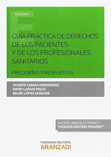 GUIA PRACTICA DERECHOS DE PACIENTES Y PROFESIONALES SANITAR