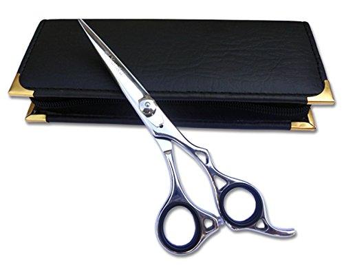 Professionnel de coiffure Ciseaux de coupe de cheveux ciseaux ciseaux Barber Salon Styling 15,2 cm Rasoir en acier japonais biseauté