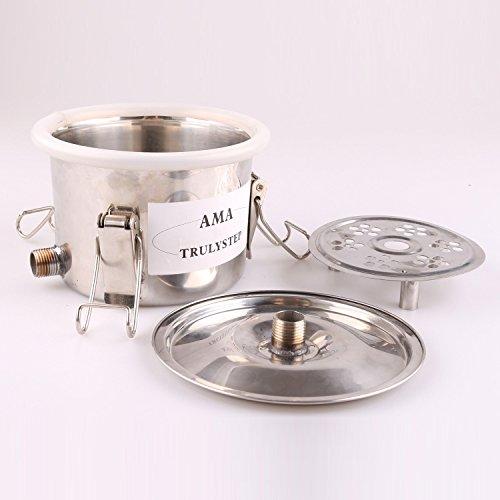 Piezas Repuesto Para Inoxidable Alambique Destilador Destilación Enfriador Caldera Whisky Alcohol Agua Esencial Aceite Preparación Kit (Para 18 Galones 70 Litros Destilador)