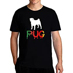 Eddany Dripping Pug Camiseta