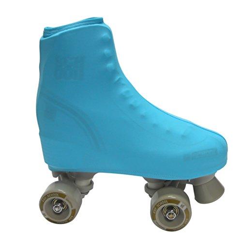 KRF Figure Skate Boot Covers - Light Blue, N/A