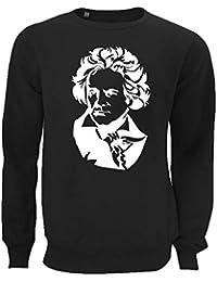 Atprints Ludwig Van Beethoven Composer Artwork Unisex Pullover Sweater