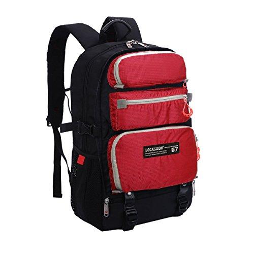 Unisex Leicht Laptop Tasche Multifunktional Schulter Tasche Red