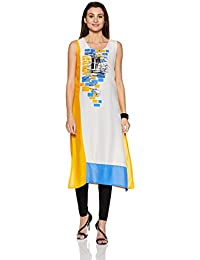 Rangmanch By Pantaloons Women's Straight Kurta