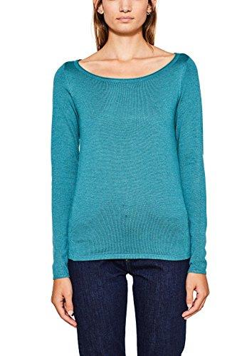ESPRIT Damen Pullover 996ee1i903, NOOS Sweater Teal Green 5 L_374, M Pullover Teal