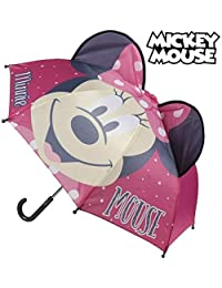 Accesorios lluvia mickey CERDA MINNIE PARAGUAS POP UP