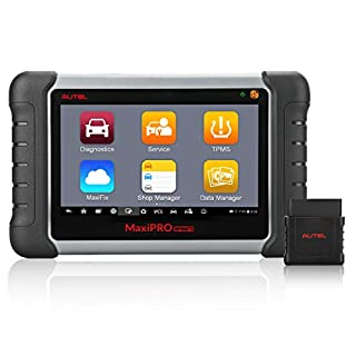 Autel MaxiPRO MP808TS Automotive Diagnostic Scanner with TPMS Service Function and Wireless Bluetooth (Prime Version of Maxisys MS906TS, Combination of DS808 and TPMS)