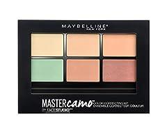 Idea Regalo - Maybelline New York Color Master Camo Palette Correttori Occhiaie e Imperfezioni, Light