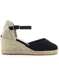 f18bfc79255 Zapatos de Mujer Espadrilla Carol Nera Castañer SS 2019