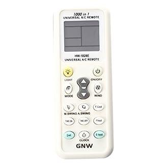 Aire acondicionado de control remoto – SODIAL(R)Mando a distancia-Pantalla LCD universal A / C Mando a distancia para el aire acondicionado de K-1028E