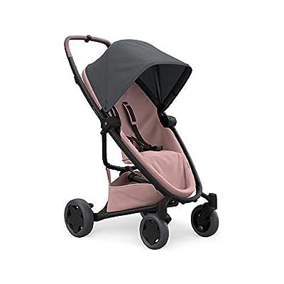 Quinny Zapp Flex Plus Vier Räder Buggy, stylischer Kinderwagen mit viel Komfort und Flexibilität, leicht und extrem kompakt zusammenfaltbar