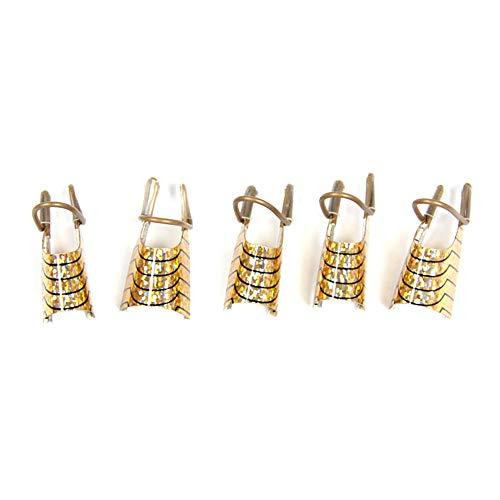 Amesii Lot de 5 formes d'ongles réutilisables pour accessoires de beauté et de beauté