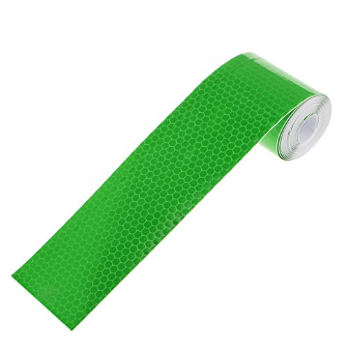 Imported 3M Warning Reflective Safety Tape Adhesive Sticker for Truck Car Green