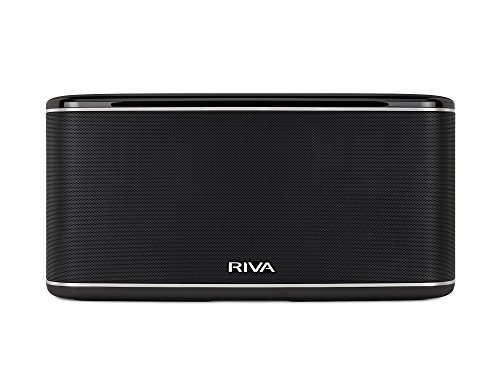 Riva Festival Negro (Wand Series) Altavoz Multi-Room, 200 W, DLNA, Airplay, Google...