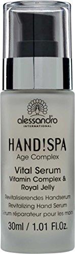 alessandro Hands Spa Age Complex Vital Serum, 30 ml, 1er Pack (1 x 30 ml)