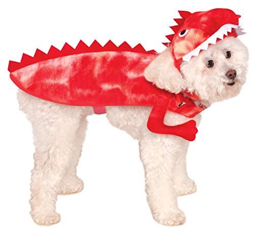 Kostüm Raptor Pet - Rubie's Raptor Dinosaurier Haustierkostüm, Large, Mehrfarbig