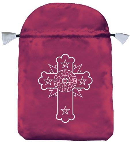 Rosicrucian Satin Bag (Bolsas de Lo Scarabeo Tarot Bags From Lo Scarabeo)