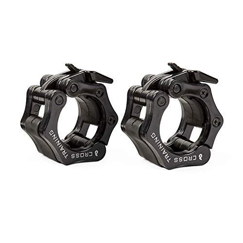 Earwaves ® Pro Lockers - Topes de Pesas para Barra olímpica. Bloqueadores de Discos para Crossfit...