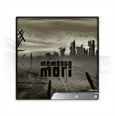 DeinDesign Skin kompatibel mit Sony Playstation 3 Slim CECH-2000-3000 Aufkleber Folie Sticker Memento Mori City Stadt (Memento 2000)