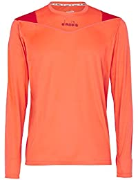 Amazon.es  Naranja - Camisetas deportivas   Ropa deportiva  Ropa 3a192afbeef02