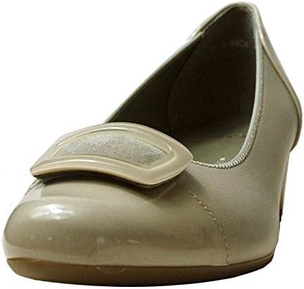 ara 35859 – 05 Beige Puntera de Patentes Zapatos de tacón