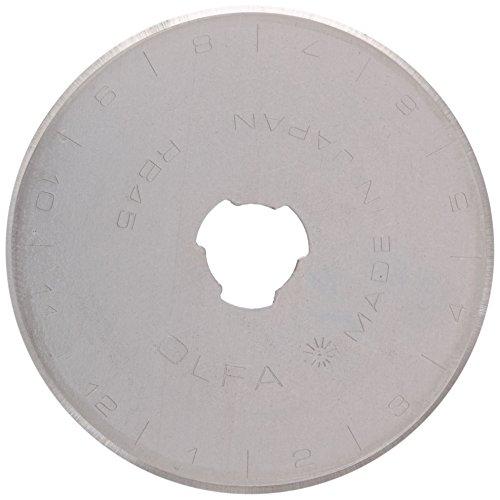 Prym Ersatzklinge für Rollschneider Maxi 45 mm, Edelstahl, Silber