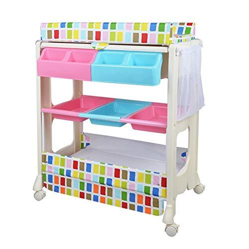 Mädchen Junge Baby-Windel-Wickeltische, Kleinkinder-Wickeltische Dresser, Säuglingswindel Organizer