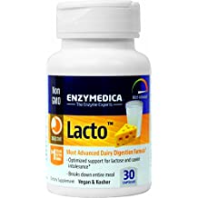 Enzymedica - Lacto, Most Advanced Dairy Digestive Enzyme Formula, 30 Capsules by Enzymedica