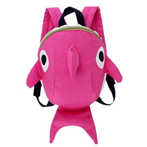 Mochilas Infantiles, 2 6 años Niños Niña 3D Tiburón