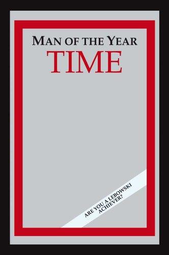 empireposter - Fun - Man Of The Year - Größe (cm), ca. 20x30 - Bedruckter Spiegel, NEU - Beschreibung: - Bedruckter Wandspiegel mit schwarzem Kunststoffrahmen in Holzoptik - (Kult Poster)