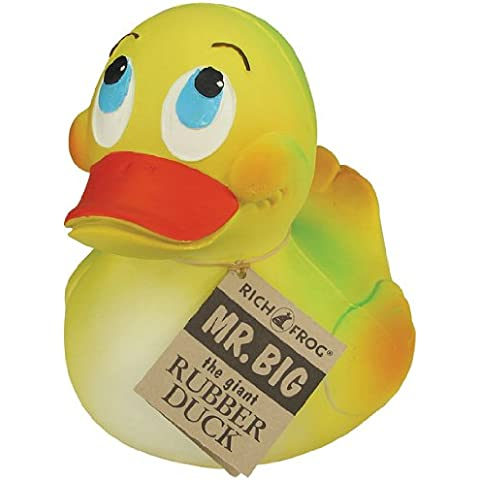 Rich Frog Mr. Big Giant Rubber Duck- Natural Latex Rubber No Phthalates