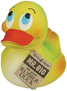 Rich Frog Mr. Big Giant Rubber Duck- Natural Latex Rubber No Phthalates by Rich Frog (English Manual)