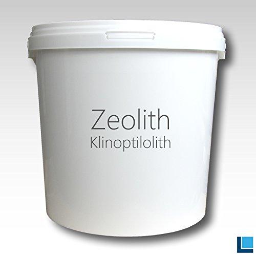 Zéolite en poudre klinop tilolith 0-200microns purement sans additifs 8000g Seau