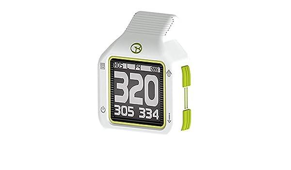 Entfernungsmesser Uhr : Golfbuddy ct gps entfernungsmesser weiß grün amazon sport