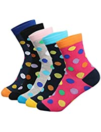 Supersox Kid's Pack of 5 Regular Combed Cotton Socks Combo-4
