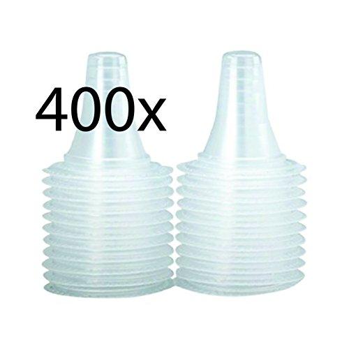 400 Schutzkappen für alle Braun ThermoScan Ohrthermometer / Ohr Fieberthermometer / Ohrenthermometer