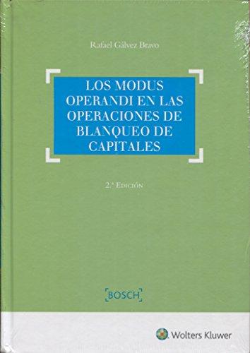 Modus operandi en las operaciones de blanqueo de capitales,Los (2ª ed.)