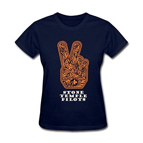 kettyny templo de las mujeres pilotos banda diseño algodón T Shirt
